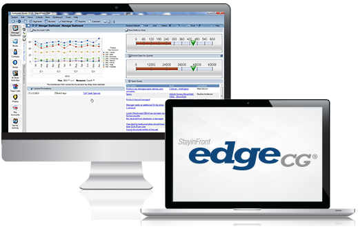 StayinFront EdgeCG is a Complete Consumer Goods CRM – Retail Execution, Analytics and In-Store Selling Solution